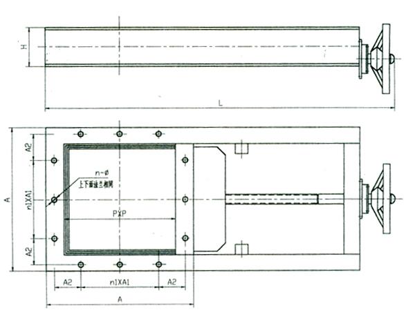 XZ型插板门